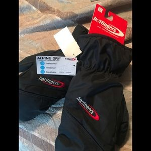 Other - Men xl hot fingers gloves NWT